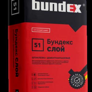 """Шпаклевка цементная """"Бундекс Слой"""""""